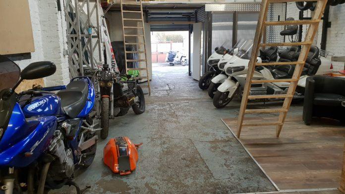 La mécanique de base d'une moto