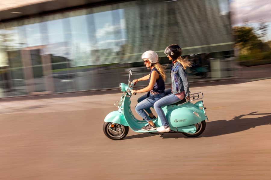 conduire une moto